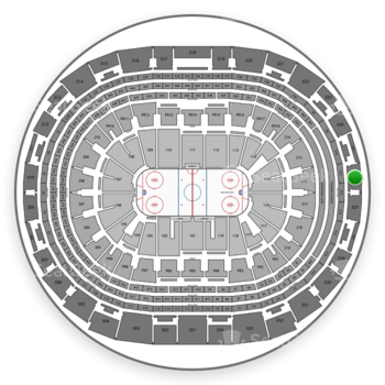 Los Angeles Kings at Staples Center Section 326 View