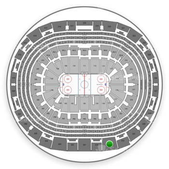 Los Angeles Kings at Staples Center Section 333 View