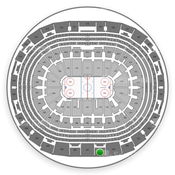 Los Angeles Kings at Staples Center Section 334 View