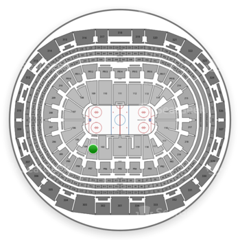 Los Angeles Kings at Staples Center Section 103 View