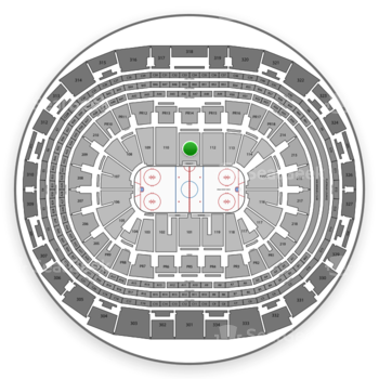 Los Angeles Kings at Staples Center Section 111 View