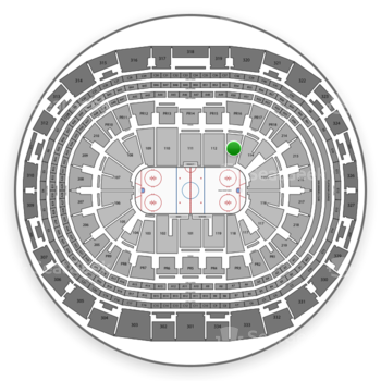 Los Angeles Kings at Staples Center Section 113 View