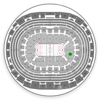 Los Angeles Kings at Staples Center Section 116 View