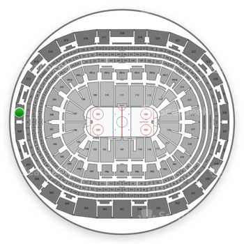 Los Angeles Kings at Staples Center Section 310 View