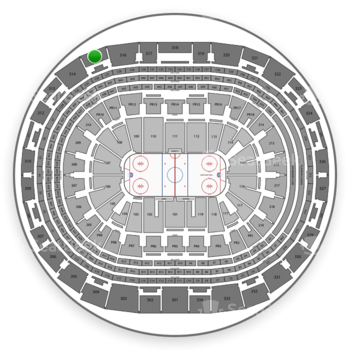 Los Angeles Kings at Staples Center Section 315 View