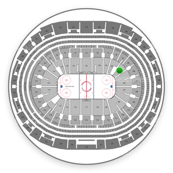 Los Angeles Kings at Staples Center Section 105 View