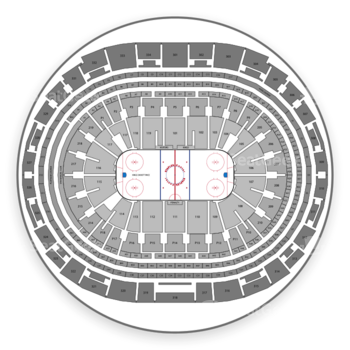 Los Angeles Kings at Staples Center Section 16 View