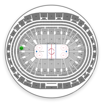 Los Angeles Kings at Staples Center Section 217 View