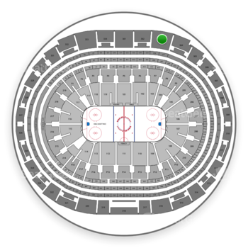 Los Angeles Kings at Staples Center Section 303 View