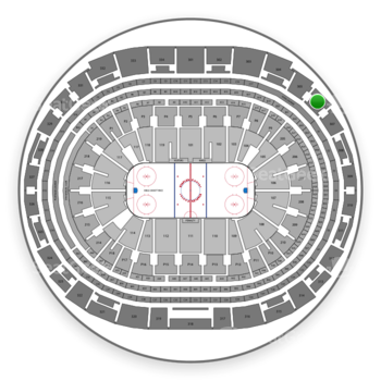 Los Angeles Kings at Staples Center Section 306 View