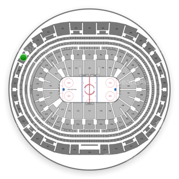 Los Angeles Kings at Staples Center Section 329 View