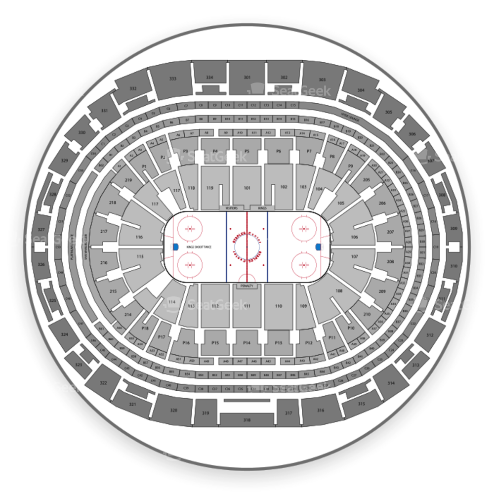 Los Angeles Kings Seating Chart