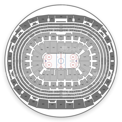Staples Center seating chart Los Angeles Kings