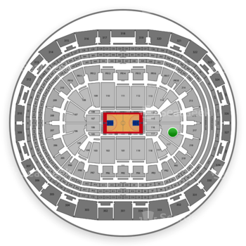 Los Angeles Clippers at Staples Center Section 116 View