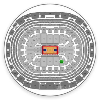 Los Angeles Clippers at Staples Center Section 118 View
