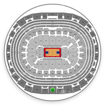 Los Angeles Clippers at Staples Center Section 301 View