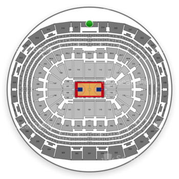 Los Angeles Clippers at Staples Center Section 318 View