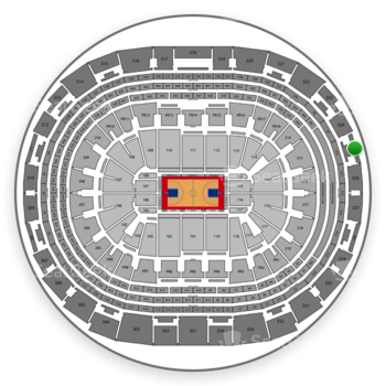 Los Angeles Clippers at Staples Center Section 325 View