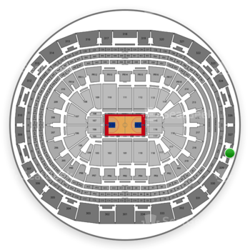 Los Angeles Clippers at Staples Center Section 328 View