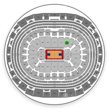 Los Angeles Clippers at Staples Center Section 113 View