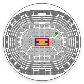 Los Angeles Clippers at Staples Center Section 114 View
