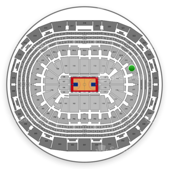 Los Angeles Clippers at Staples Center Section 215 View