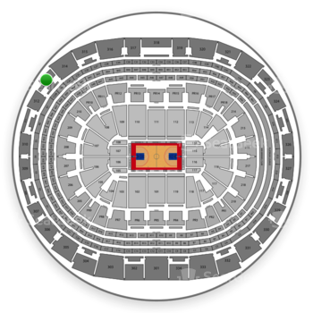 Los Angeles Clippers at Staples Center Section 313 View