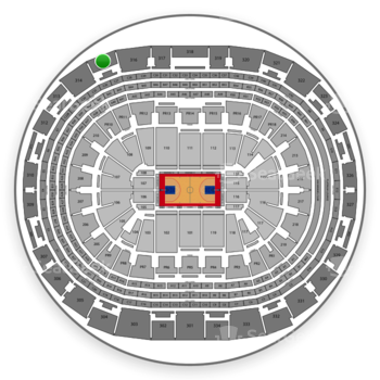Los Angeles Clippers at Staples Center Section 315 View