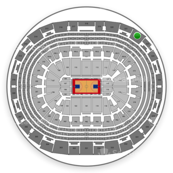 Los Angeles Clippers at Staples Center Section 322 View