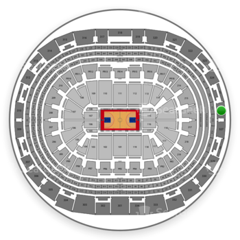 Los Angeles Clippers at Staples Center Section 326 View