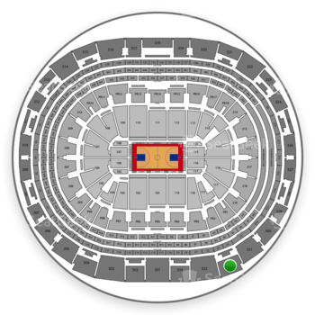 Los Angeles Clippers at Staples Center Section 332 View
