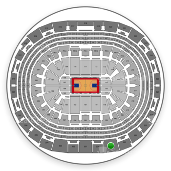 Los Angeles Clippers at Staples Center Section 333 View