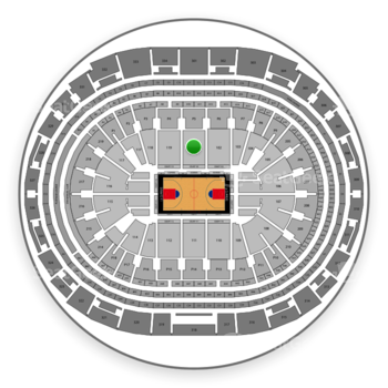 Los Angeles Clippers at Staples Center Section 101 View