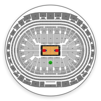 Los Angeles Clippers at Staples Center Section 111 View