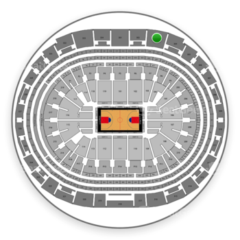 Los Angeles Clippers at Staples Center Section 303 View