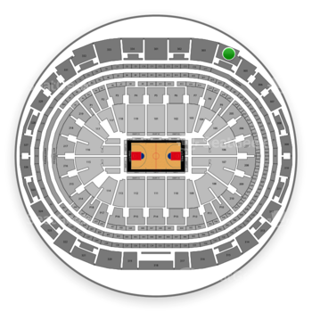 Los Angeles Clippers at Staples Center Section 304 View