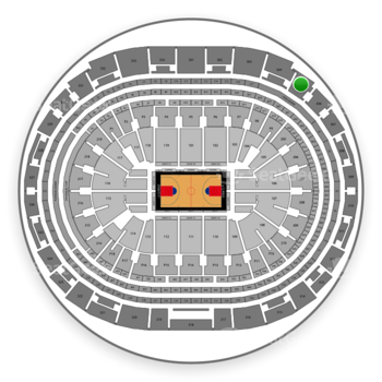 Los Angeles Clippers at Staples Center Section 305 View