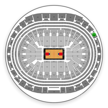 Los Angeles Clippers at Staples Center Section 307 View