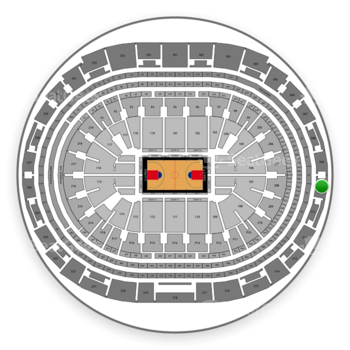 Los Angeles Clippers at Staples Center Section 310 View