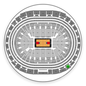 Los Angeles Clippers at Staples Center Section 314 View