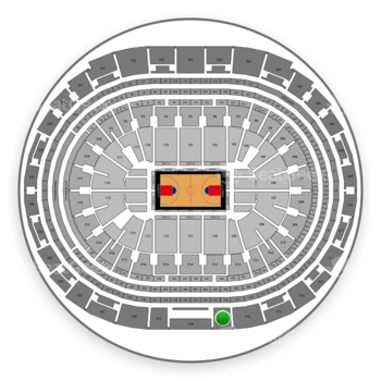 Los Angeles Clippers at Staples Center Section 317 View