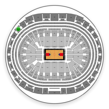 Los Angeles Clippers at Staples Center Section 330 View