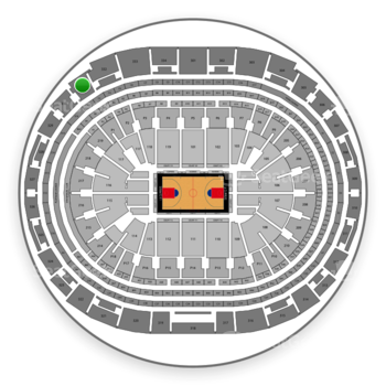 Los Angeles Clippers at Staples Center Section 331 View
