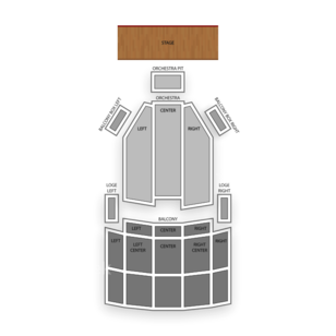 Saenger Theatre Seating Chart Theater