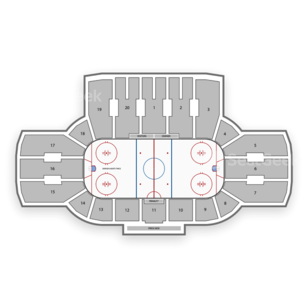 Denver Pioneers Hockey Seating Chart