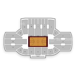 Denver Pioneers Basketball Seating Chart