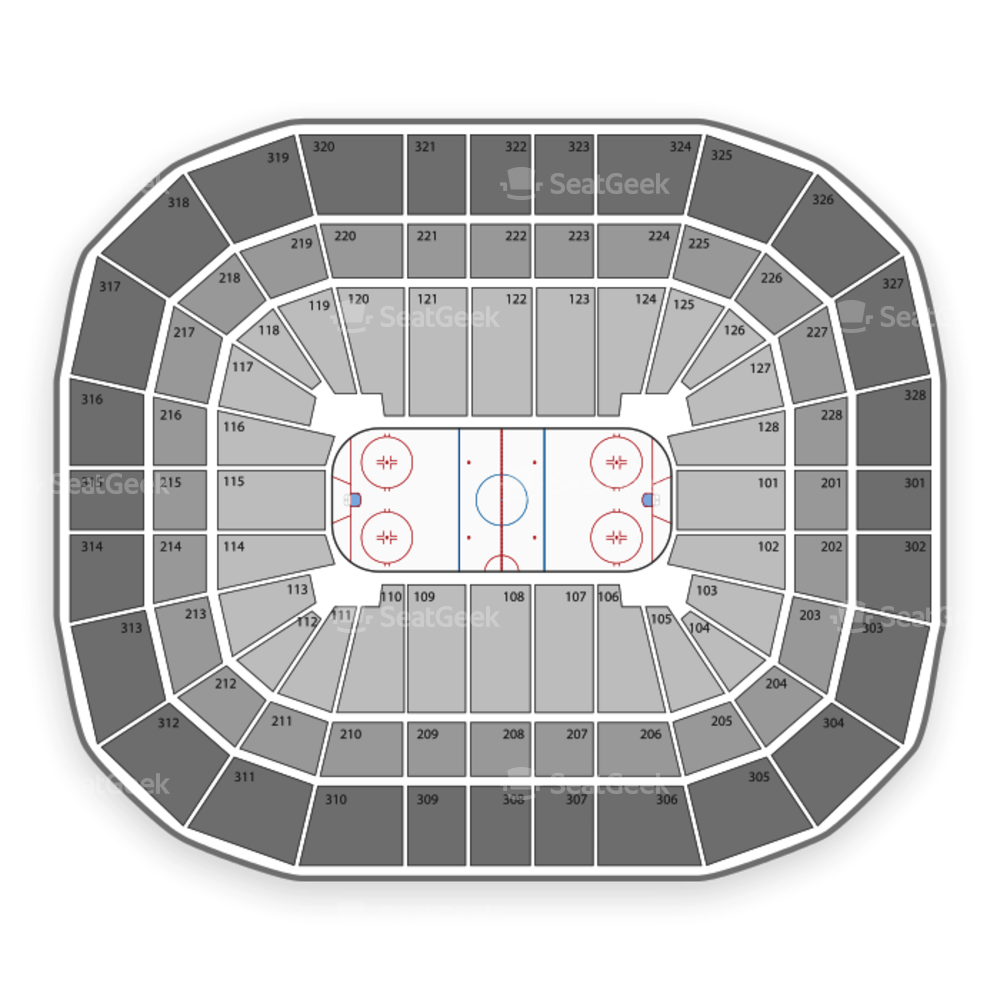 Wisconsin Badgers Hockey Seating Chart