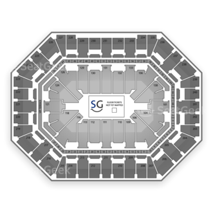 Target Center Seating Chart Tennis