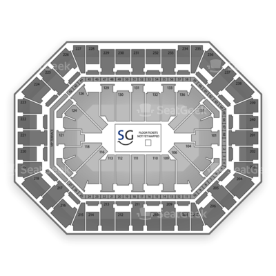 Target Center seating chart Disney On Ice: Frozen