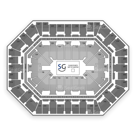 Target Center seating chart Marvel Universe Live